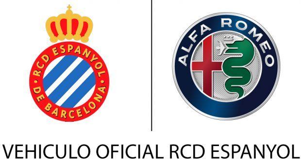 Alfa Romeo, Vehículo Oficial del Real Club Deportivo Espanyol de Barcelona