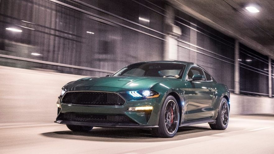 LOS NUEVOS MUSTANG BULLITT Y EDGE ST PROTAGONISTAS DEL NORTH - San jose international car show