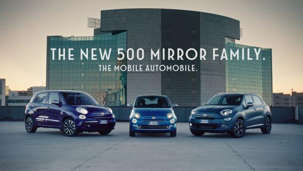 Arranca la nueva campaña de publicidad del Fiat 500 Mirror