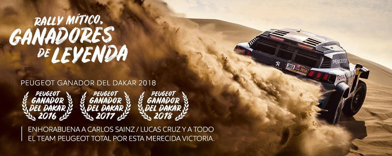 PEUGEOT GANADOR DEL DAKAR 2018