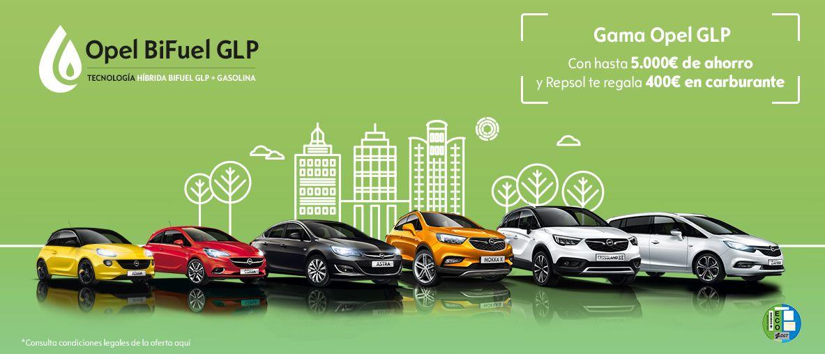 Opel BiFuel GLP.
