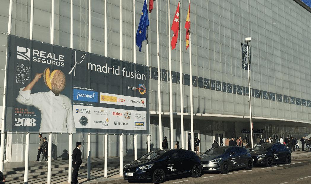 DS AUTOMOBILES AÑADE EL REFINAMIENTO FRANCÉS Y LA TECNOLOGÍA DEL AUTOMÓVIL A LA COCINA DE VANGUARDIA DE MADRID FUSIÓN