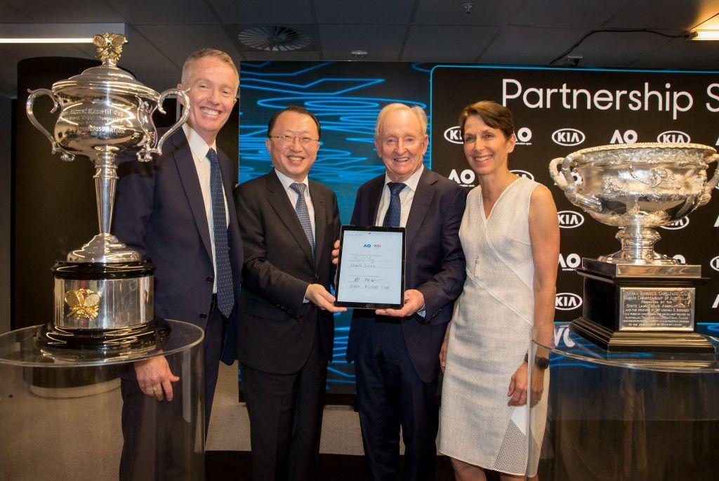 Kia extiende hasta 2023 su patrocinio del Open de Australia