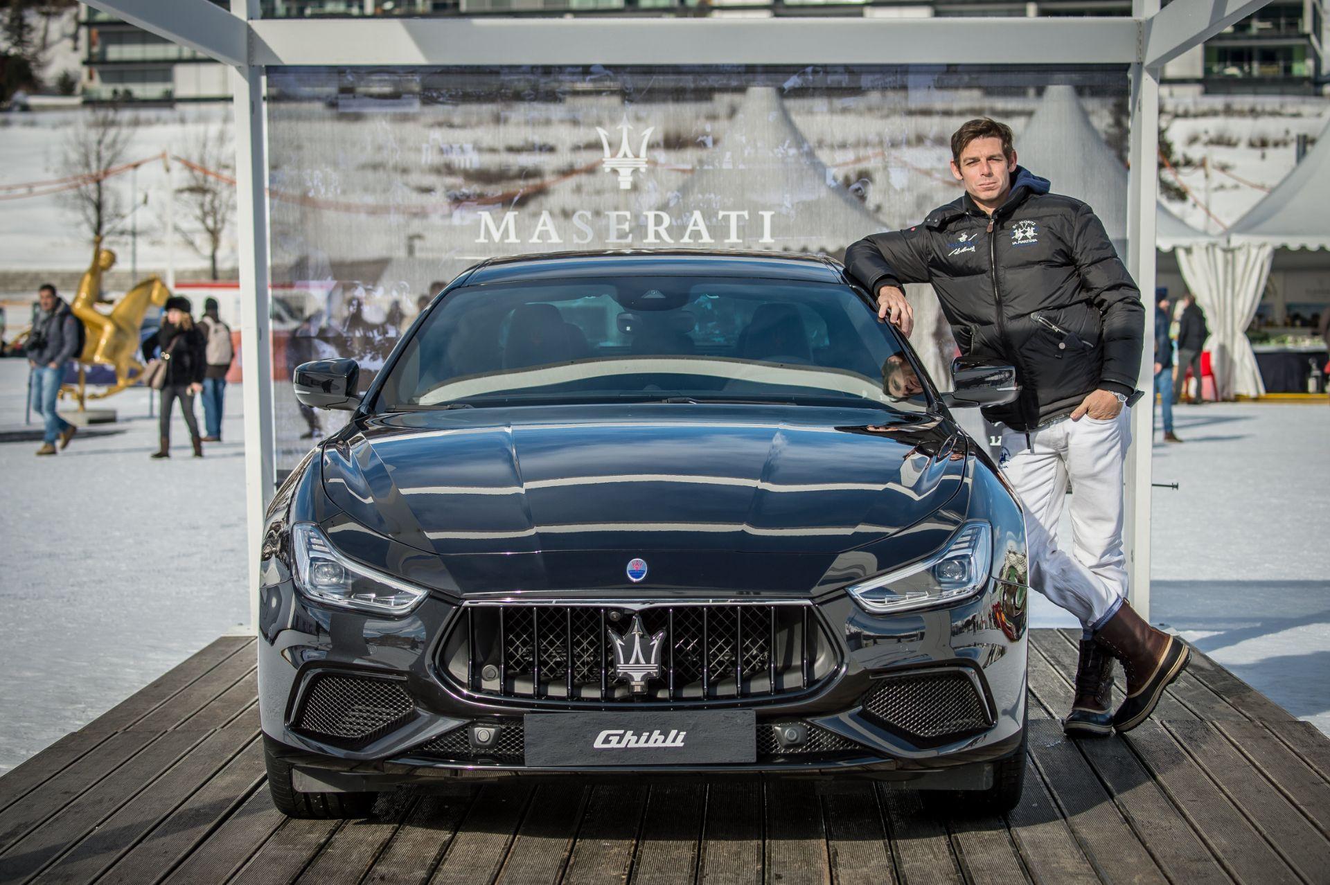 """Comienza el Maserati Polo Tour 2018 con la celebración del legendario """"Snow Polo World Cup St. Moritz"""" en colaboración con La Martina"""