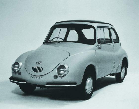 360, el primer Subaru de pasajeros cumple 60 años