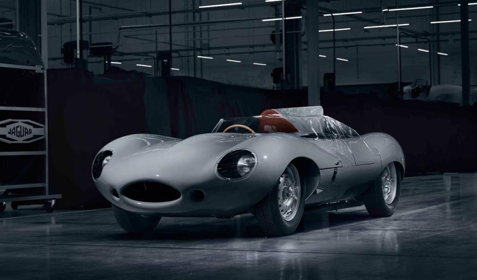 Jaguar vuelve a fabricar el D-Type