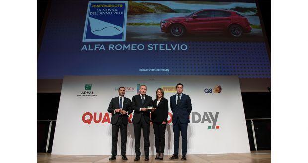 """Alfa Romeo Stelvio es """"Nuevo Coche del Año 2018"""" por la revista Quattroroute"""