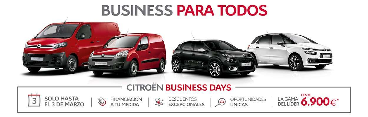 CITROËN BUSINESS DAYS.