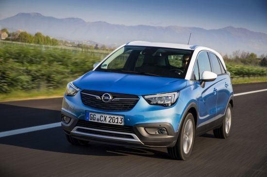 Opel añade el Crossland X a su gama de modelos Autogas (GLP)