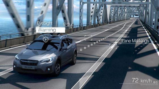Cuatro innovaciones del Subaru XV 2018 en seguridad integral