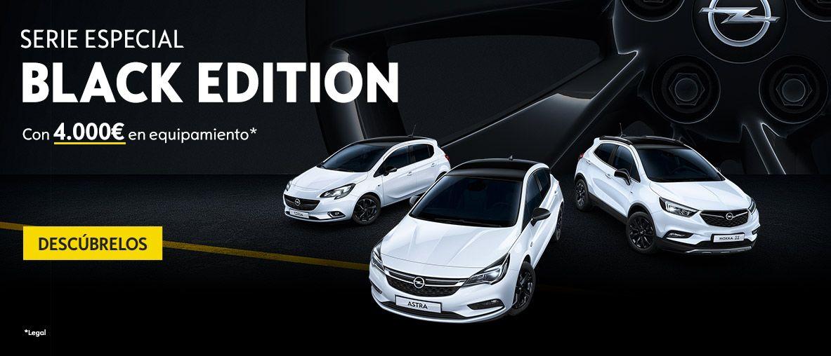 Serie especial Opel Black Edition con 4.000€ de equipamiento