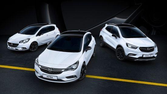 """""""Black Edition"""": modelos Opel con un estilo especial"""