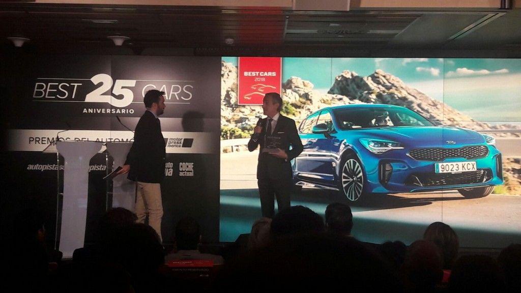 """Kia Stinger, """"Mejor Berlina grande 2018"""" en la XXV edición de los premios Best Cars"""
