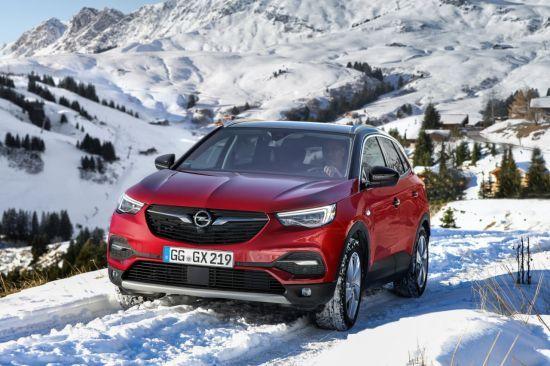 IntelliGrip: óptima tracción en todo momento para el Opel Grandland X