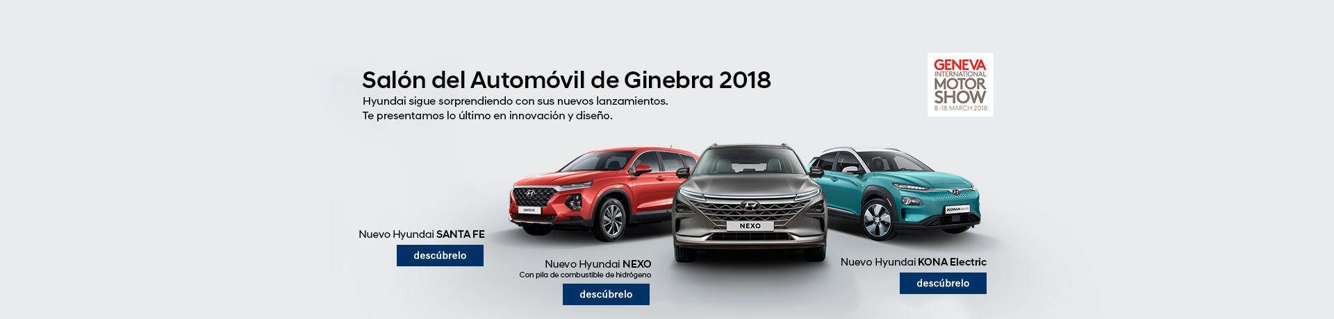 HYUNDAI EN EL SALÓN DEL AUTOMÓVIL DE GINEBRA 2018
