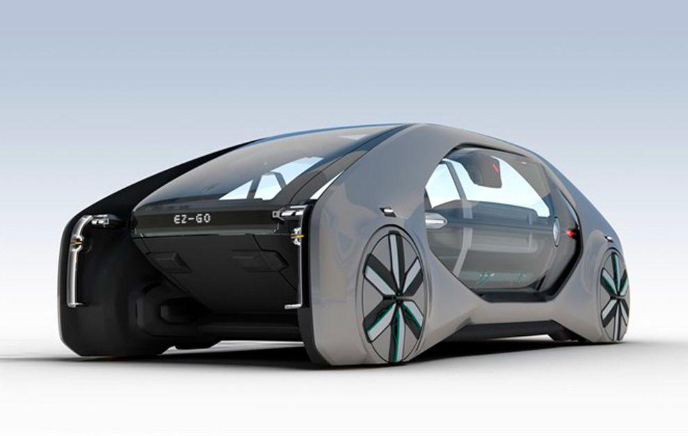 Renault EZ-GO: coches robot para la movilidad urbana del futuro