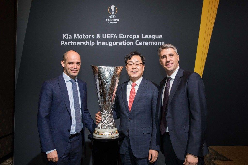 Kia sella el nuevo acuerdo de patrocinio con la UEFA Europa League