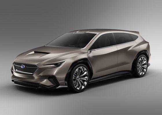Subaru Viziv Tourer, el familiar deportivo del futuro llega al Salón de Ginebra