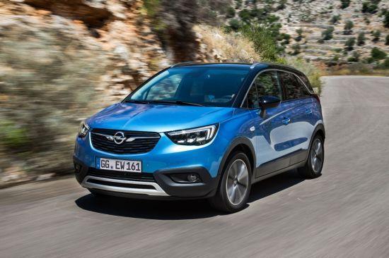 Más de 100.000 pedidos del Opel Crossland X