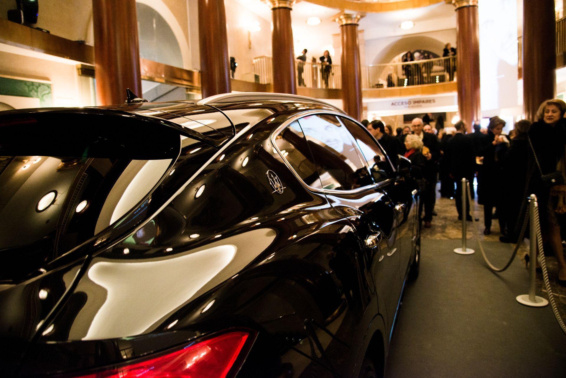 """Maserati y """" Aida"""" de Verdi se presentan en el bicentenario del Teatro Real de Madrid"""