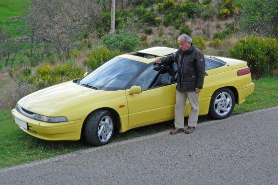 Descubre la historia del único Subaru SVX amarillo en España