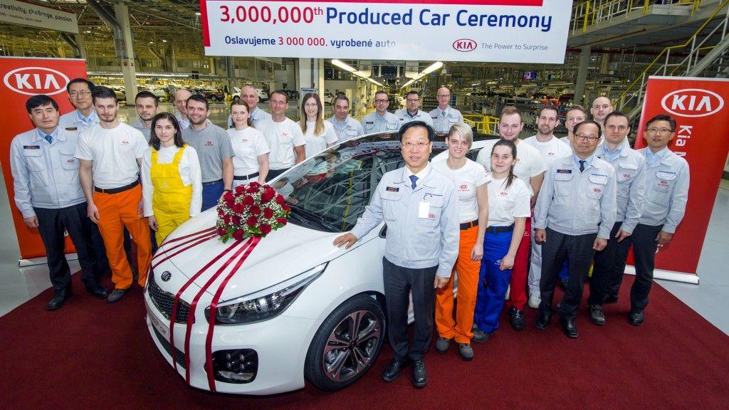 Kia Motors fabrica la unidad tres millones en Europa