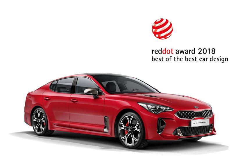 2018 Red Dot Awards: otro triple triunfo para el diseño de Kia