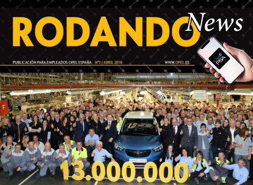 Primera edición de Rodando News para empleados de Opel