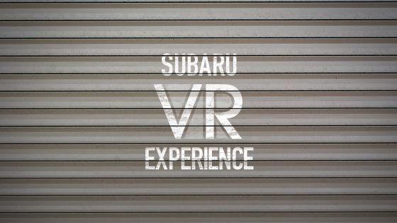 Subaru VR Experience: sumérgete en la aventura a través de videos 360º