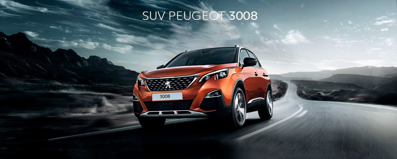 SUV PEUGEOT 3008.