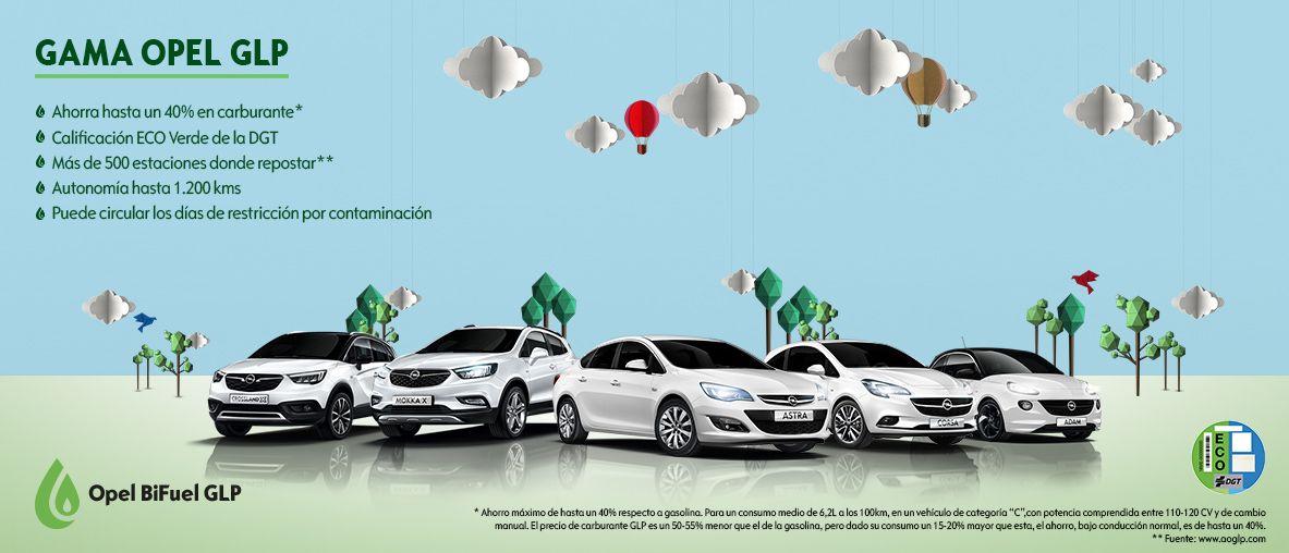 Opel BiFuel GLP .