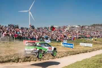 RALLY DE PORTUGAL: PONTUS TIDEMAND CONSIGUE EL HAT-TRICK PARA ŠKODA