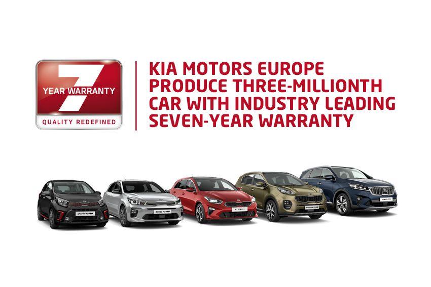 """Kia Motors Europa produce tres millones de vehículos, liderando el mercado con sus """"siete años de garantía"""""""