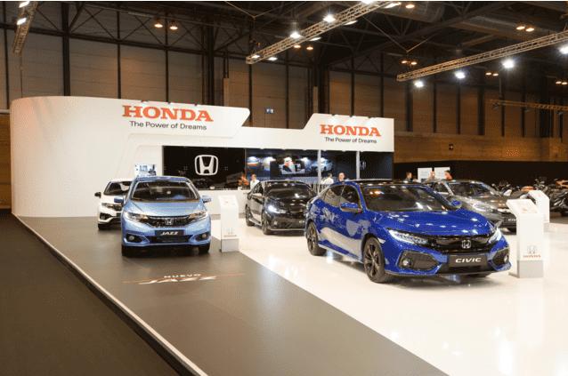 Honda llega al Madrid Auto 2018 con toda su gama de modelos