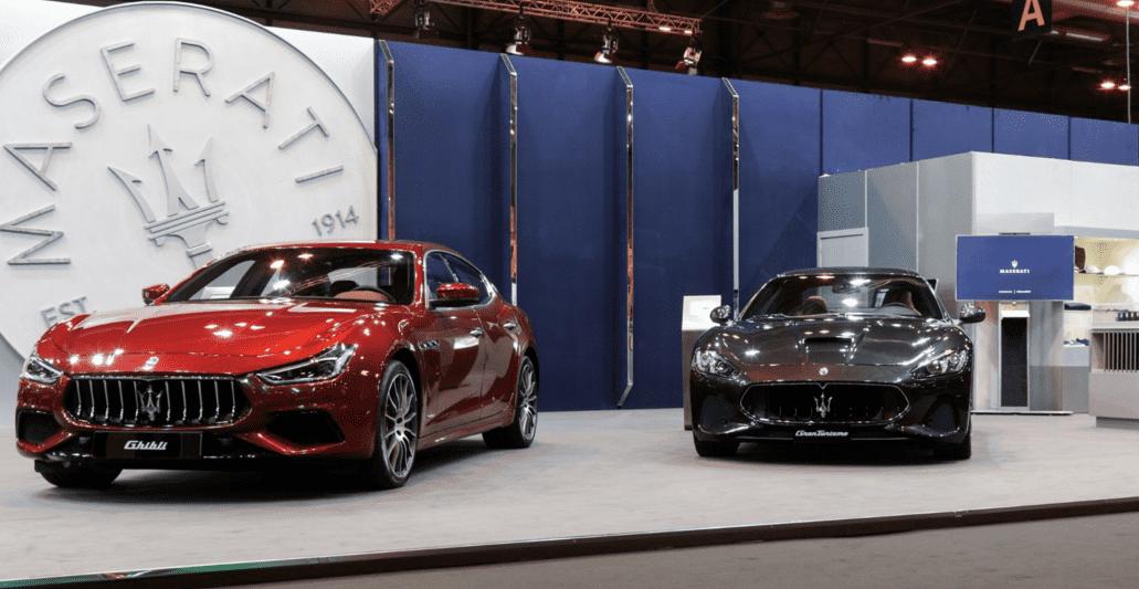 Maserati presenta el Maserati Levante MY18 de 350 cv con ocasión del Salón Madrid Auto