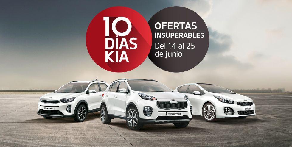 10 Días Kia, Ofertas insuperables del 14 al 25 de junio
