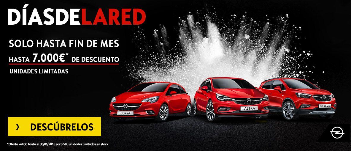 Días de la Red. Gama Opel hasta 7.000€ de descuento