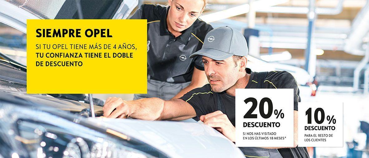Opel Posventa Descuentos.