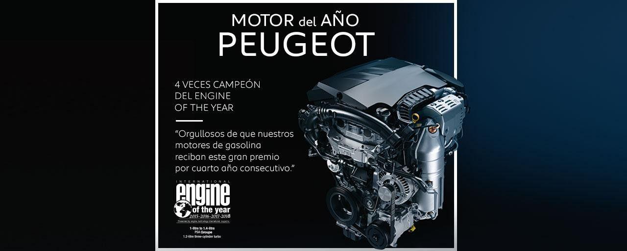 MOTOR DEL AÑO PEUGEOT.