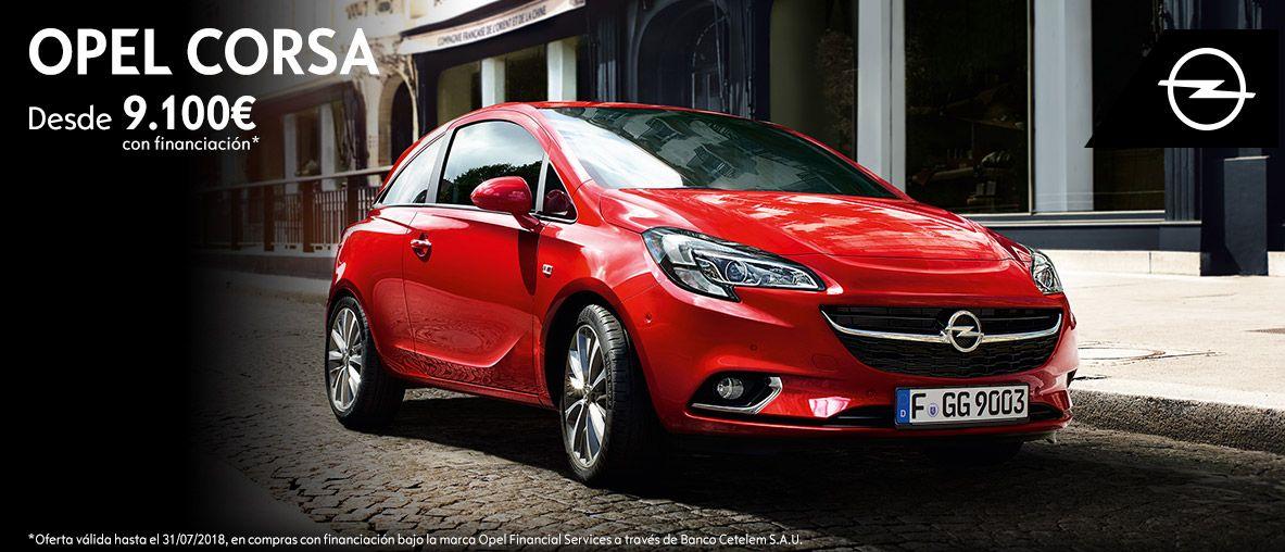 Opel Corsa desde 9.100€ con financiación
