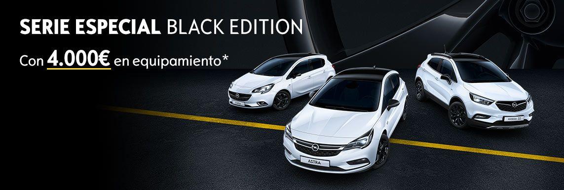 [Opel] CONDUCE CON ESTILO. CONDUCE EL OPEL BLACK EDITION. Header