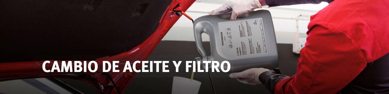 CAMBIO ACEITE Y FILTRO