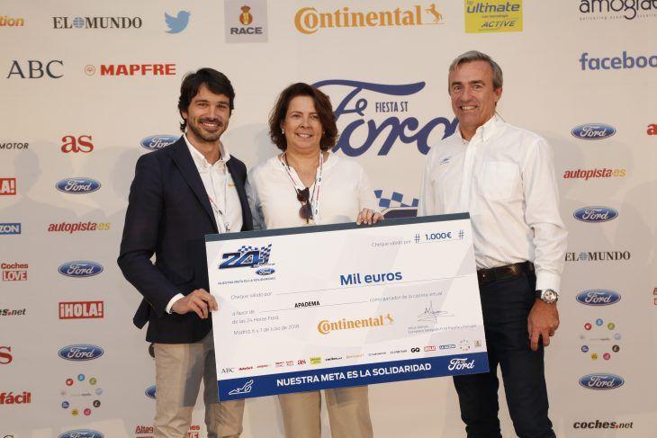 Fundación Elena Barraquer consigue el triunfo en las XV 24 Horas Ford