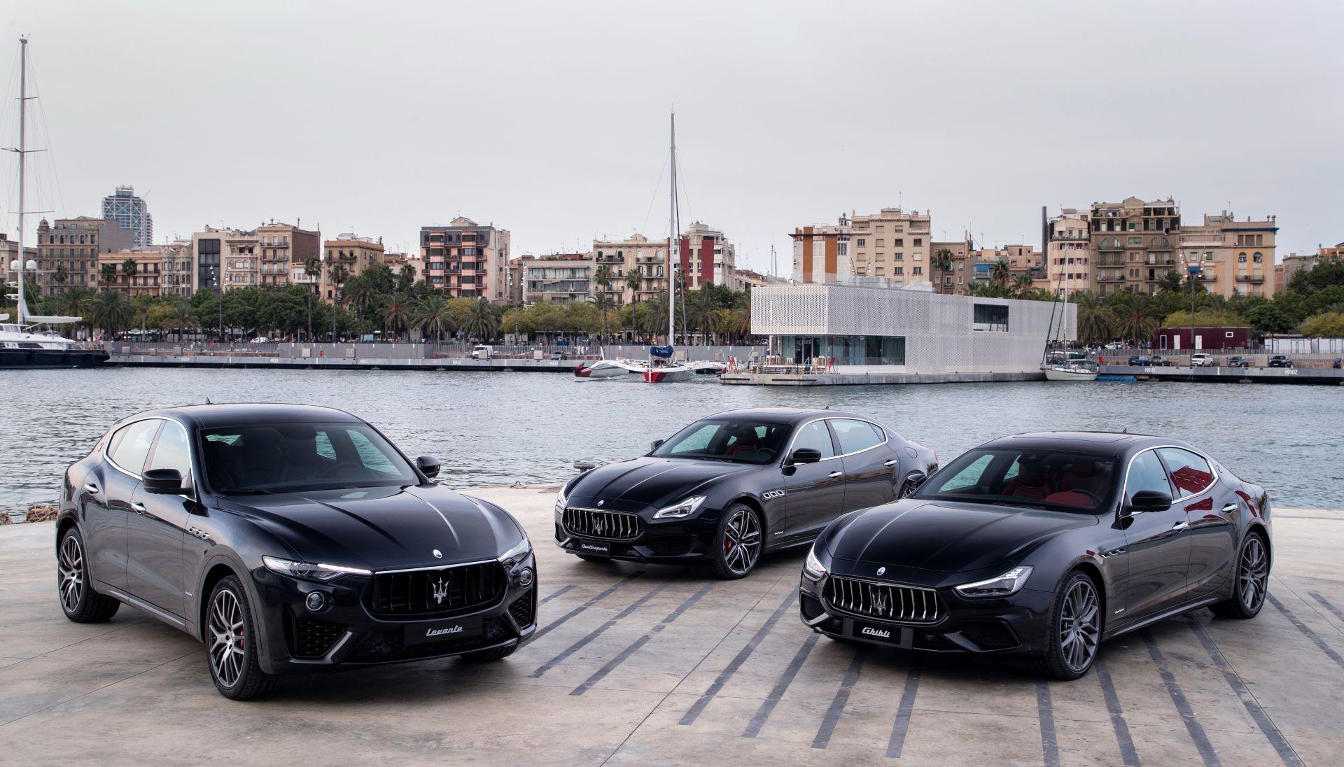"""Maserati presenta por primera vez en España su gama MY19 en la """"Maserati Drive & Sail Experience"""" en OneOcean Port Vell en Barcelona"""