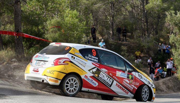 Efrén Llarena y Sara Fernández retoman el asalto al título europeo con el Peugeot 208 R2 del Rally Team Spain