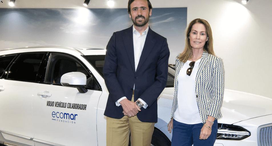 Volvo Car España adquiere un acuerdo con la Fundación ECOMAR para la limpieza de residuos del litoral español