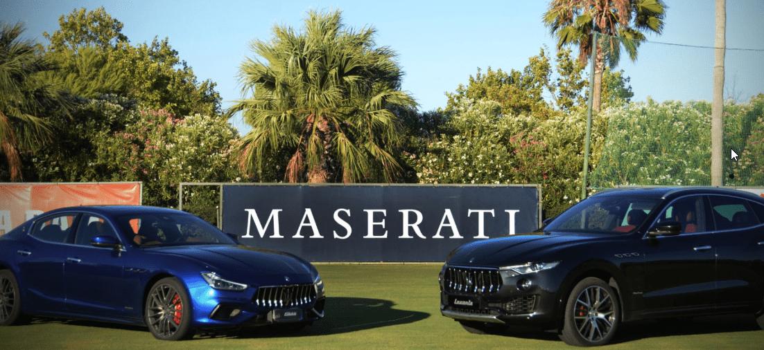 Maserati, Coche Oficial y Patrocinador de la Copa de Oro del  47º Torneo Internacional de Polo del Santa María Polo Club de Sotogrande