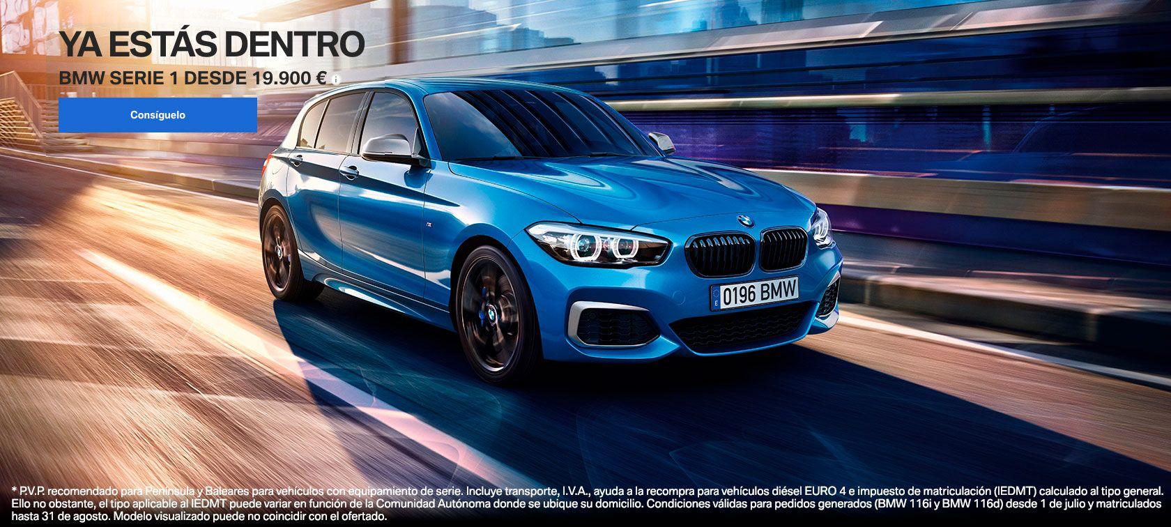 NUEVO BMW SERIE 1.