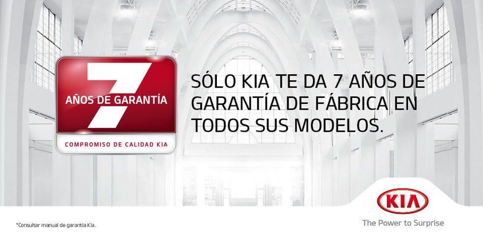 7 AÑOS DE GARANTÍA