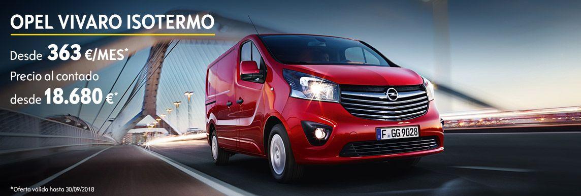 [Opel] OFERTA ESPECIAL VIVARO ISOTERMO/FRIGORÍFICO Header